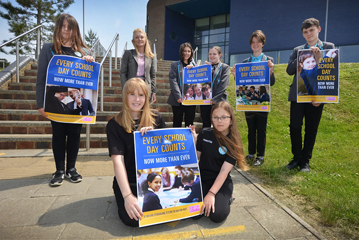 Hastings Observer Attendance Campaign Image Hastings Academy